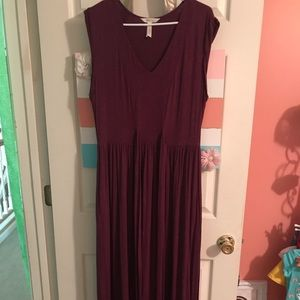 Matild Jane plum maxi dress